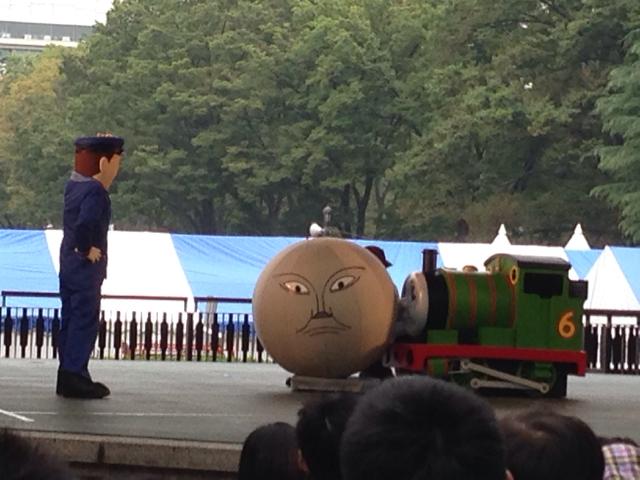 鉄道フェスタでトーマスショーを見た。[by ひかる @2015/10/10 15:09:58]