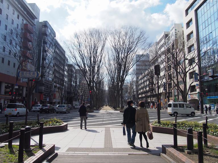 定禅寺通緑地1