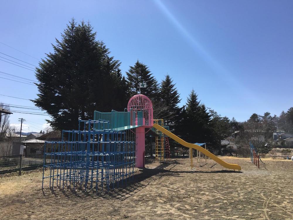 中軽井沢南児童遊園8