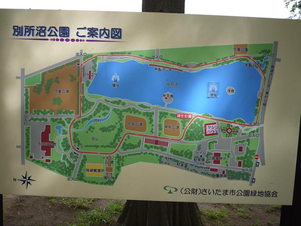 別所沼公園12