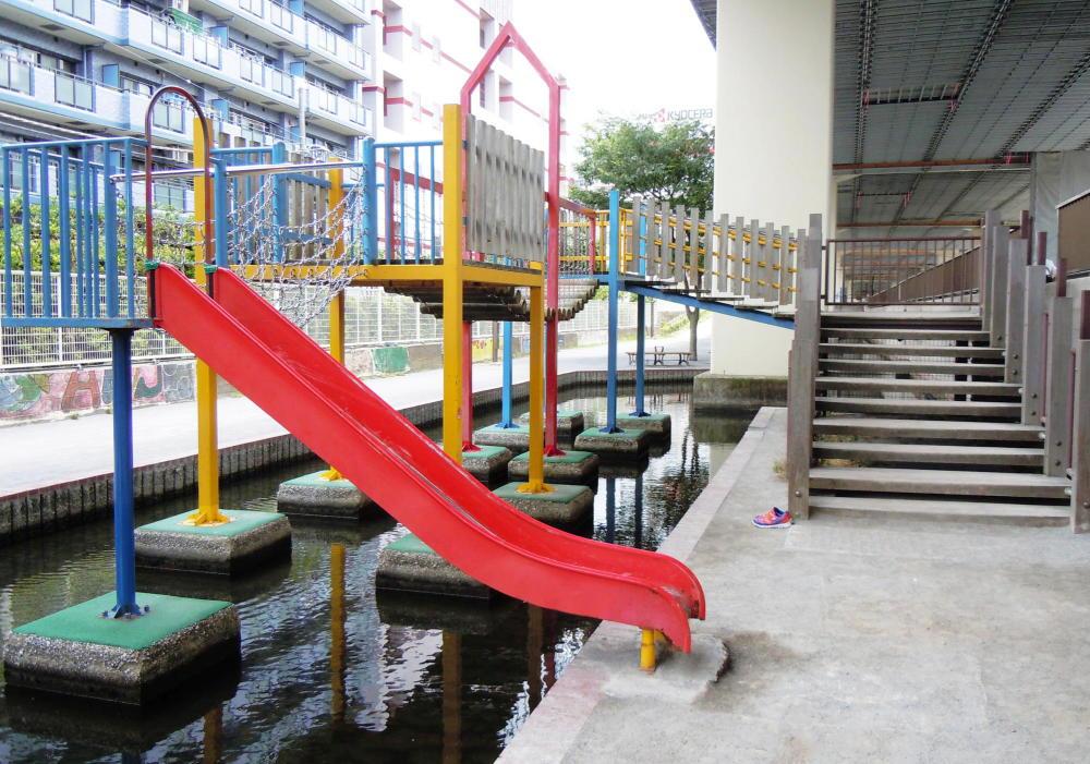 竪川河川敷公園
