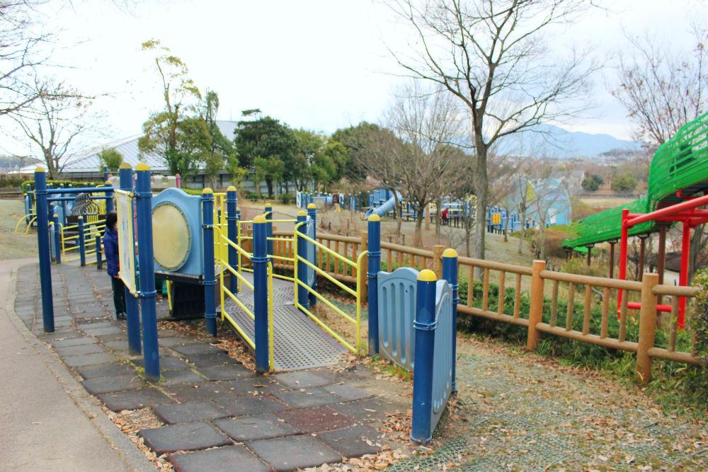 取 公園 竹