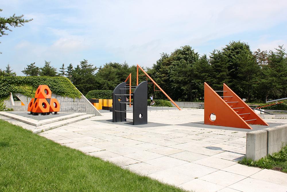 モエレ沼公園 彫刻遊具