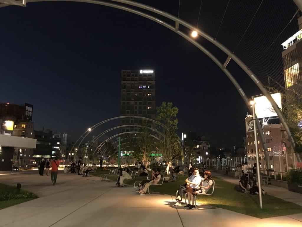 渋谷区立宮下公園