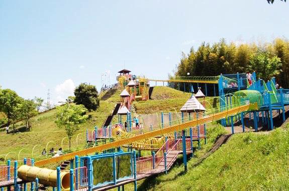 高田濃施山公園(福岡県みやま市)